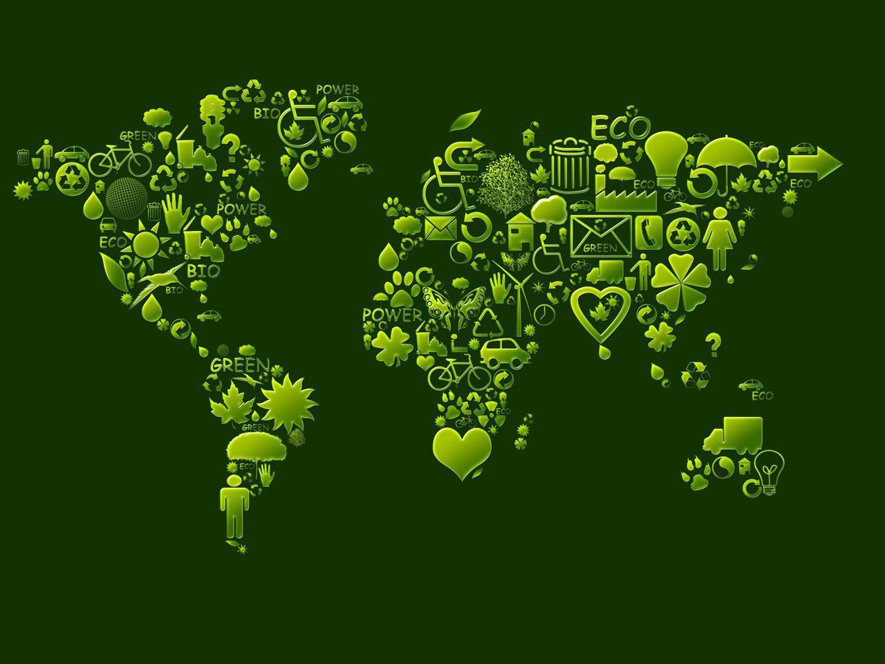 Ecological,Symbols